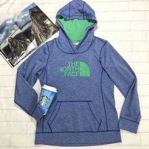 North face Blue Hoodie Sweater Jacket Long Sleeve